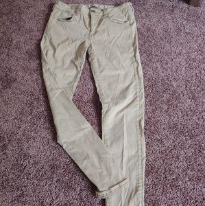 American eagle super stretch khaki jeggings